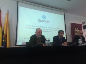 Esasur Energía interviene, junto a Bureau Veritas,  en la Jornada organizada para las empresas de la Bahía de Algeciras, que tuvo lugar el pasado jueves, 21 de abril de 2.016, en la Cámara de Comercio de Algeciras, Cádiz.